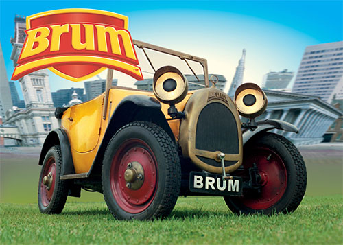 Childrens TV - Brum - music composed by Andrew McCrorie-Shand
