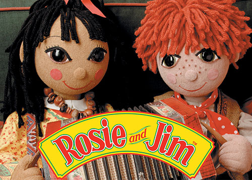 Rosie and Jim Children's TV programme - music composed by Andrew McCrorie-Shand